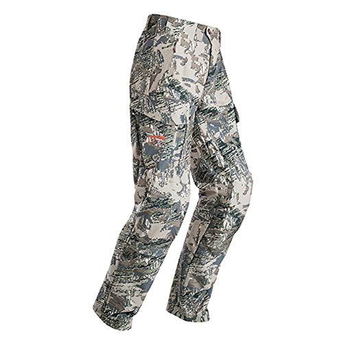 Sitka Gear Pantalón de Caza para Hombre 50104, Hombre, 50104-OB-34R, Optifade País Abierto, 34W