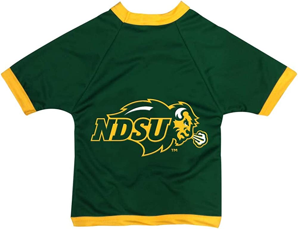 NCAA North Dakota State safety Bison Athletic Dog Jersey Quantity limited Mesh