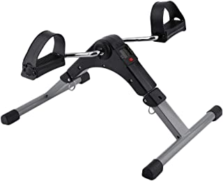 1 قطعة دواسة تمرين الدراجة أفضل ذراع الساق تمرين جهاز بدلر مصغرة الدوران دراجة شاشة ليد معدات رياضية ، متعدد الألوان
