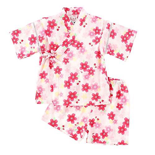 Neugeborene Kleidung Infant Japanische Pyjamas Baby Japanische Kimono Robe Kurzarm Strampler (A,100cm)