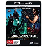 Escape From New York / They Live / The Fog / Prince of Darkness (John Carpenter 4K Collection)