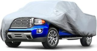 Leader Accessories Pick Up Truck Cover 3 Layer Dustproof Windproof UV Protection Car Cover Up to 20'8