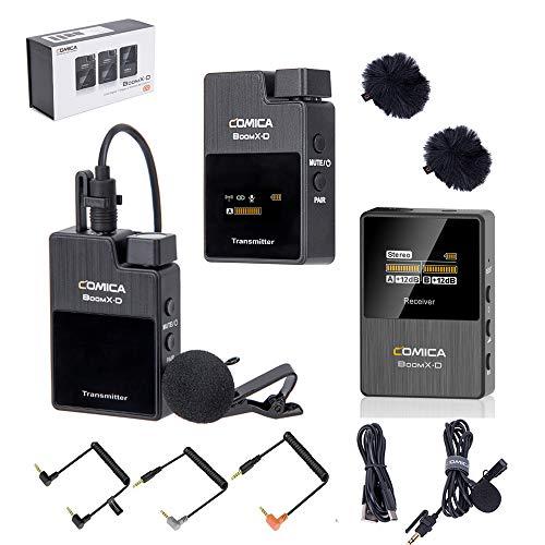 COMICA BoomX-D 2.4G Wireless Microphone Transmitter & Receiver (D2 = TX + TX + RX)