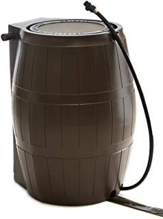 FCMP Outdoor RC4000-BRN Catcher 4000 Rain Barrel, Brown