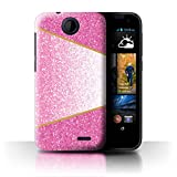 Stuff4 Phone Case for HTC Desire 310 Glitter Pattern Effect
