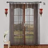 CASA-NEST PVC AC Curtain, 0.15 mm, 4.5 x 7 ft (Clear)