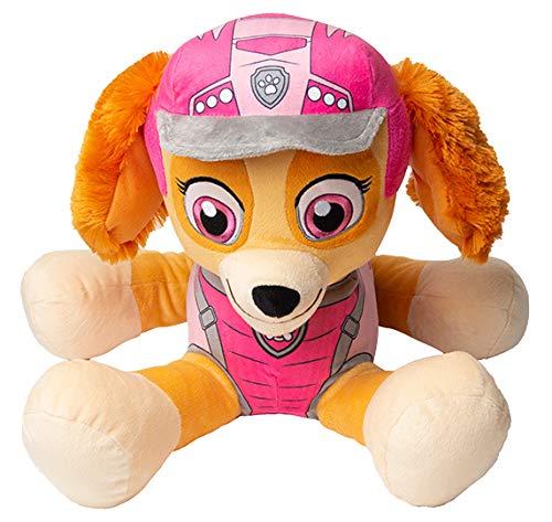 PAW PATROL Kuscheltier, Hund Kuscheltier Groß Chase Marshall und Skye, Kuscheltier Hund 53 cm für Kinder, Plüsch Figuren Stofftier (Skye)