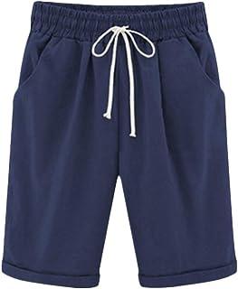 Donna Biancheria Da Donna Tasca Vacanze Spiaggia Estate Pantaloncini Elastico In Vita