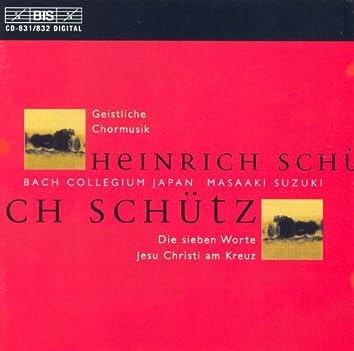 Schutz: Geistliche Chormusik, Op. 11