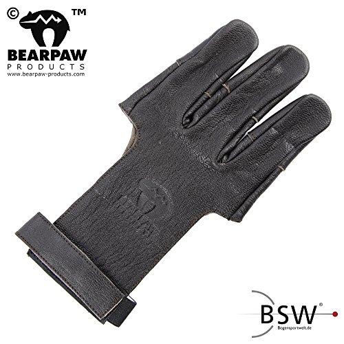 Bearpaw - guante de tiro guantes de Damasco, color , tamaño large