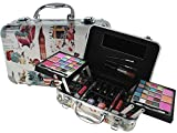 BR Carry All Trunk Train Case Make Up Set Artist Design (Artistic)