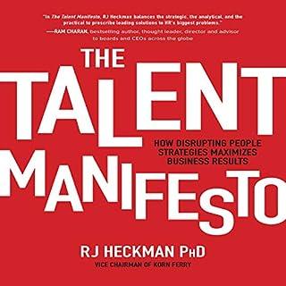 The Talent Manifesto audiobook cover art