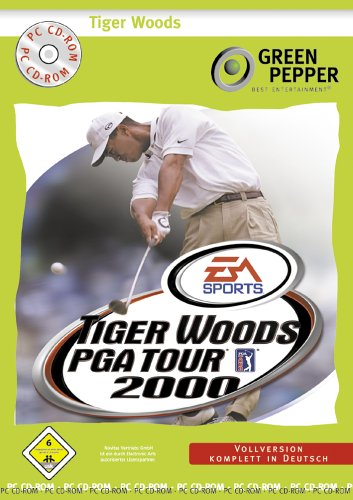 Tiger Woods PGA Tour 2000 [Green Pepper]
