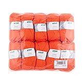 Gründl Wolle, orange