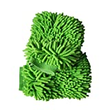 KATOOL Car Washing Sponges & Mitts Green 2 Pack, Microfiber Wash Mitt for Car Cleaning,Tools Premium Chenille Scratch-Free