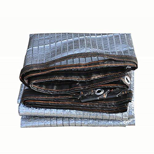 Générique LF Serre De 75% D'ombrage Perméable, Filet De Protection Solaire De Tissu pour Le Jardin Et Le Balcon, Sable Silver 3x6m/9x18ft