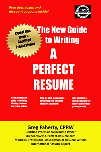 Amazon Com The New Guide To Writing A Perfect Resume The