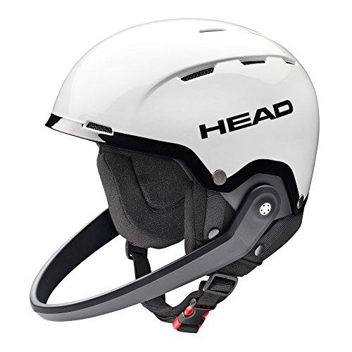 HEAD Team SL Ski/Snowboard Helm, Unisex, Team SL, weiß/schwarz