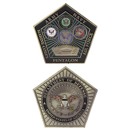 Yeioxiue Commemorative Coin American Army Marine Pentagon Collection Arts Gifts Souvenir