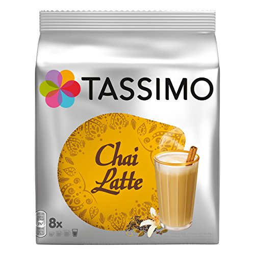TASSIMO Twinings Chai Latte - Café (8 tazas)