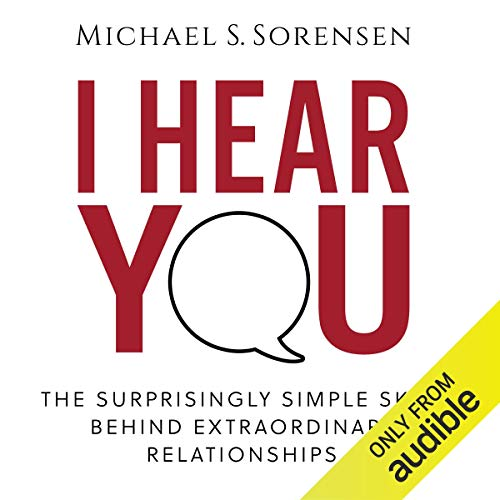 I Hear You audiobook cover art