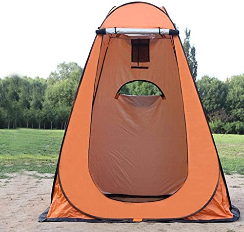 Carpa de privacidad para ducha, carpa de privacidad emergente, carpa de ducha emergente impermeable Carpa de baño portátil para acampar con ventana y bolsa de almacenamiento para viajes de senderismo