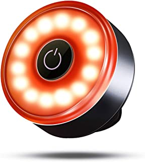 RUDI テールライト 自転車 高輝度 リアライト 広い可視距離 長時間持続点灯 IPX5防水 防塵 USB充電式 夜間走行の視認性をアピール セーフティライト テールランプ 軽量 WD003