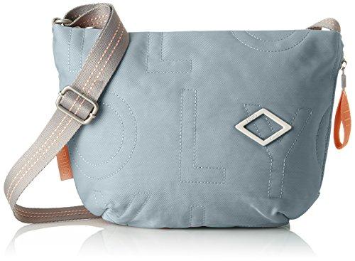 Oilily Damen Spell Shoulderbag Svz Schultertasche, Blau (Light Blue), 7x22x31 cm