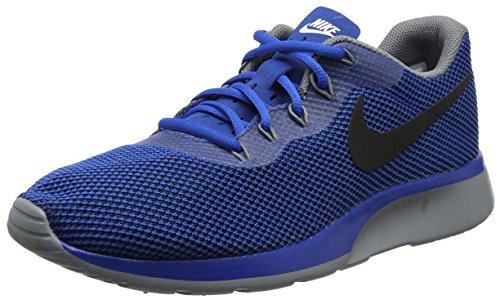 Nike Tanjun Racer, Zapatillas de Gimnasia para Hombre, Azul (Blue Jay/Black/Wolf Grey), 40.5 EU