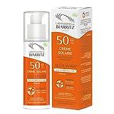 Laboratoires de Biarritz - Crème Solaire Visage - SPF50 - ALGA MARIS® Certifiée Bio - Pour Adulte - Résiste à l'Eau, Hydratante et Matifiante - 50 ml - Fabriqué en France
