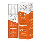 Algamaris - Crema solar facial, SPF50, certificado bio, 50 ml