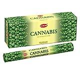 HEM Cannabis Incense Sticks - Pack of 6 - 120 Count - 301g