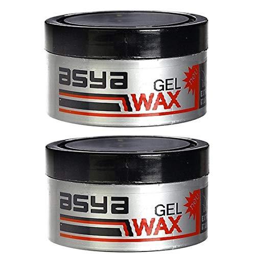 2x Asya Gel-Wax Extra Stark 2x 100ml Haargel Wax Haarwachs Haar Styling