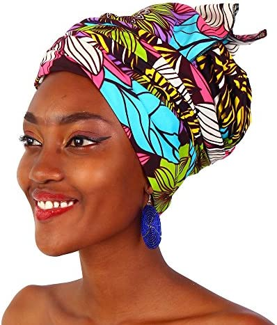 African gele head wrap _image1