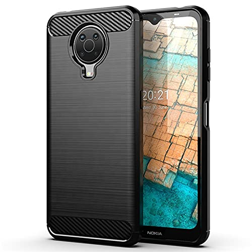 Lustree Nokia G20 Back Cover Case - Ultra Premium 360* Protection ZebraTexture...