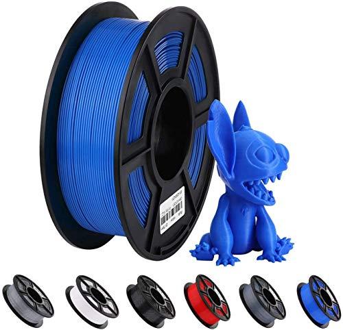 ANYCUBIC PLA Filament für 3D Drucker, Durchmesser 1.75mm, 1 kg Hochpräzise PLA Spool, 340m PLA Filament für 3D-Druckern mit Desktop-FDM- oder FFF-Technologie verwendet werden (Blau)