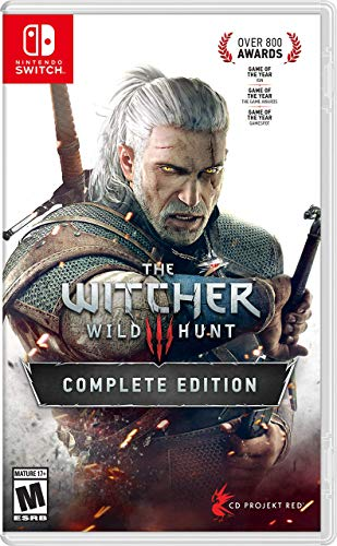 Witcher 3: Wild Hunt - Nintendo Switch (Renewed)
