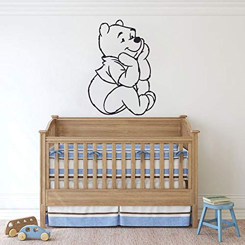 Winnie l'ourson sticker ourson ours de bande dessinée Winnie l'ourson chambre enfants décors mignon maison Sticcker chambre décor