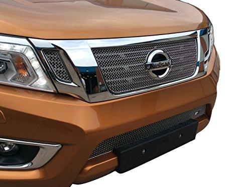 Zunsport Compatible avec Nissan Navara Ensemble calandre intégral (NP300) - Finition Argent (2015 -)