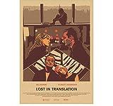ZOEOPR Poster Lost In Translation Klassische Filmplakate