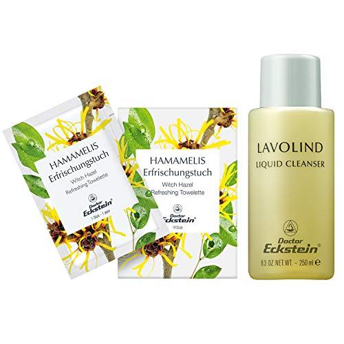 Doctor Eckstein Lavolind & Hamamelis Set (Lavolind 250 ml, Hamamelis Erfrischungstuch 14 stk.)
