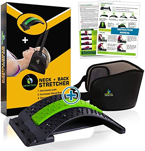 Neck Head Hammock for Neck Relief + Bonus Back Stretcher for Back Pain Relief | Soothe Hammock Neck | Detailed Instructions