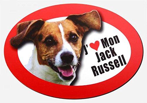 magnet j'aime mon jack russel