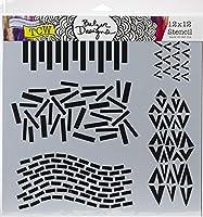 """Crafter's Workshop Template 12""""X12""""-Dash V"""