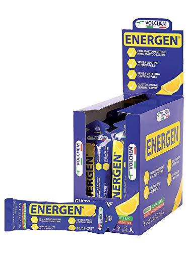 Nome: Volchem Energen 40 ml/Gel Energetico - Maltodestrine / 28 Buste da 40 ml/Gusto Limone