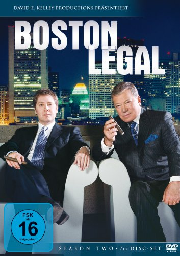 Boston Legal - Season Two [7 DVDs]
