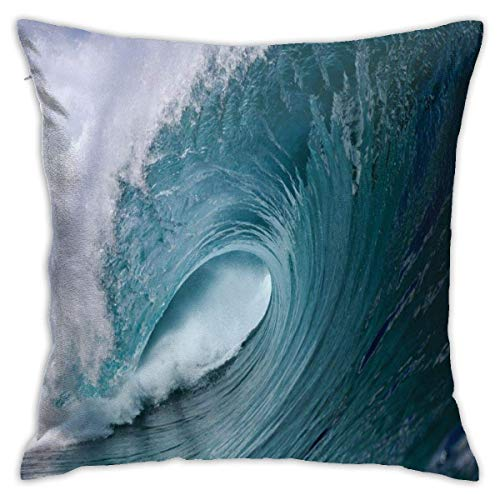 lucies Sea Weaves Throw Pillow Covers Classical Cushion Case Soft Comfy Pillow Case for Room Bedroom Sofa Chair Car 18 X 18 Inch