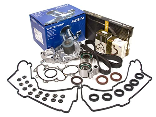 Evergreen TBK271MVCA2 Compatible With Toyota Pickup 3.4 DOHC 5VZFE Timing Belt Kit Valve Cover Gasket AISIN Water Pump