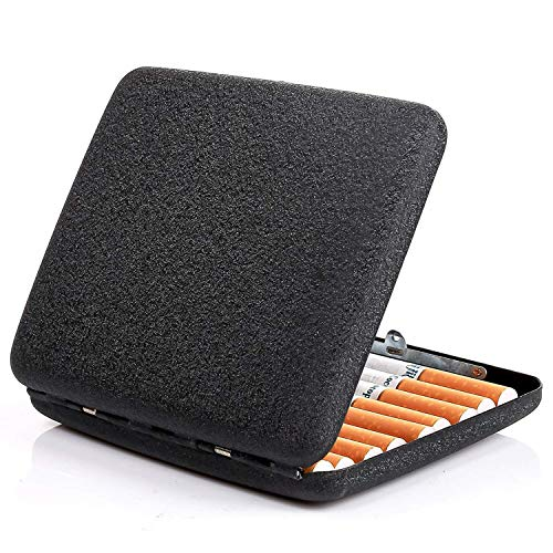 Special Curved Shape Cigarette Case is Tailor Designed for Most Clothes Pockets, Portable to Carry.