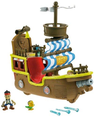 Jake y los Piratas de Nunca Jamás - Musical barco pirata de Jake Bucky [Edición Inglesa]